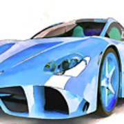 Ferrari 2 Art Print