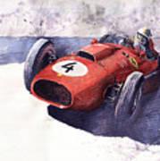 Ferrari 246 Mike Hawthorn Art Print