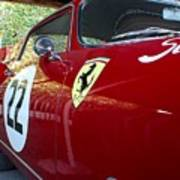 Ferrari 250 Gt Art Print