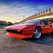 Ferrari 308 Art Print
