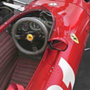 Ferrari 312 F-1 1967 Art Print