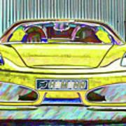 Ferrari 5 Art Print