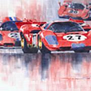 Ferrari 512 S 1970 24 Hours Of Daytona Art Print