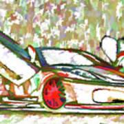 Ferrari 9 Art Print