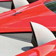 Ferrari Exhaust Pipes Art Print