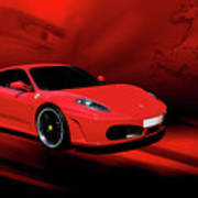 Ferrari F430 Art Print