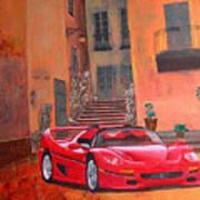 Ferrari F50 Art Print