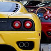 Ferrari Pair Art Print