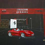 Ferrari Pininfarina Rossa Concept Art Print