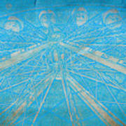 Ferris Sketch Art Print
