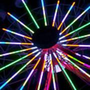 Ferris Wheel 10 Art Print