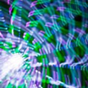 Ferris Wheel Abstract Xv Art Print