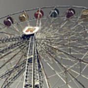 Ferris Wheel 5 Art Print