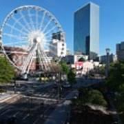 Ferris Wheel Atl Art Print