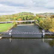 Ferry Bridge Burton On Trent Art Print
