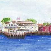 Ferry To Greenport Art Print