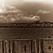 Ferry's End Art Print