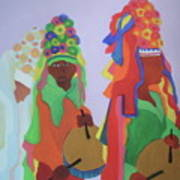 Festa Do Rosario Art Print
