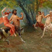 Festival Of Centaurs Art Print