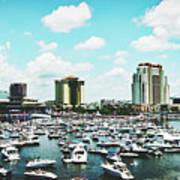 Festive Tampa Bay Art Print