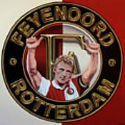 Feyenoord Rotterdam Painting Art Print
