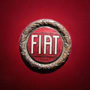 Fiat Emblem -1621c Art Print