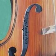 Fiddle I Art Print