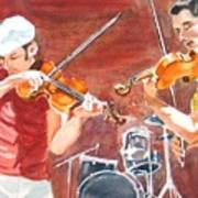 Fiddles Art Print