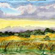 Field And Sky 2 Art Print