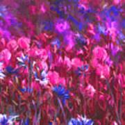 Field Of Dreams Abstract Art Print