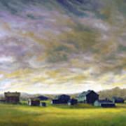 Field Of Green  18x24   Art Print