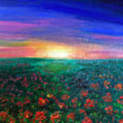 Field Of Light Art Print