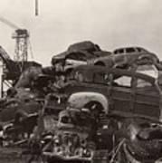 Field Of Woody Dream Cars Print by Jack Pumphrey