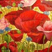 Field Poppies Art Print
