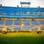 Field View Of Lambeau Art Print