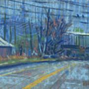 Field's Drive Art Print by Donald Maier