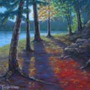 Fiery Fall Afternoon Art Print