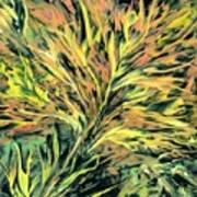 Fiery Harvest Art Print