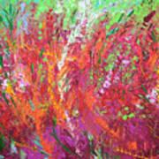 Fiery Meadow Art Print