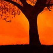 Fiery Sky Art Print