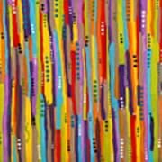 Fiesta Abstract Art Print