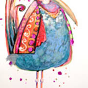 Fiesta Bird Art Print