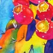 Fiesta De Fruta Art Print