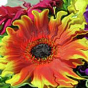 Floral Fiesta Art Print