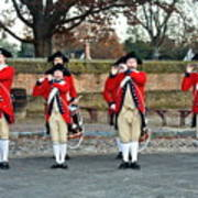Fifes And Drums Art Print