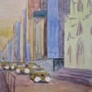 Fifth Ave At Dawn Art Print