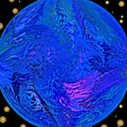 Fifth Dimension Earth Art Print