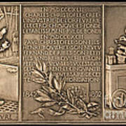 Fiftieth Anniversary Of The Christofle Company, 1842-1892 [reverse] Art Print