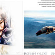 Robin Olds Fighter Pilot Art Print