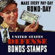 Fighting Dollars Wanted Art Print